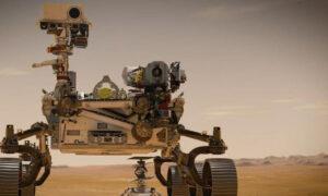 La NASA envió un robot a Marte en busca de vida